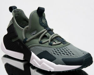 654922d2d1db Nike Air Huarache Drift Breathe Men New Shoes Mens Clay Green Black ...