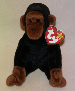 TY BEANIE BABY COLLECTION *** CONGO *** CUTE *** 1996 ***
