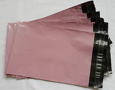 """100 X 6x9"""" BABY PINK PLASTIC MAILERS GIFT BAGS ENVELOPES"""