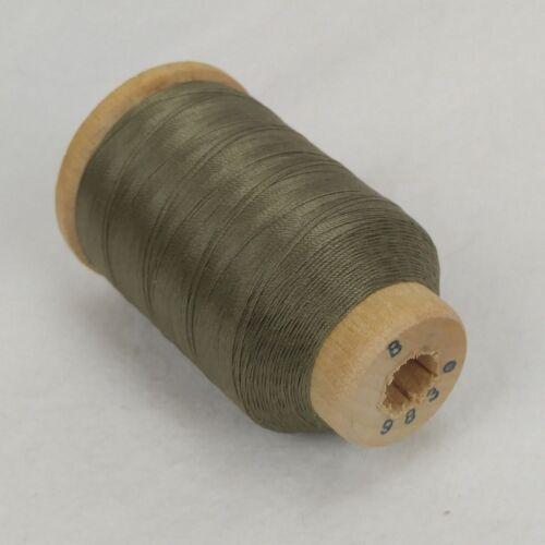 Vtg Belding Corticelli Pure Silk Thread Spool ~ Sz B ~ 520 Yds ~ #9830 Green