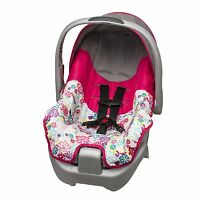 Evenflo Car Seat Includes Base Newborn Infant Baby Girl Pink Flowers Lightweight