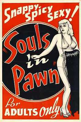Souls In Pawn Poster 02 A4 10x8 Photo Print Art