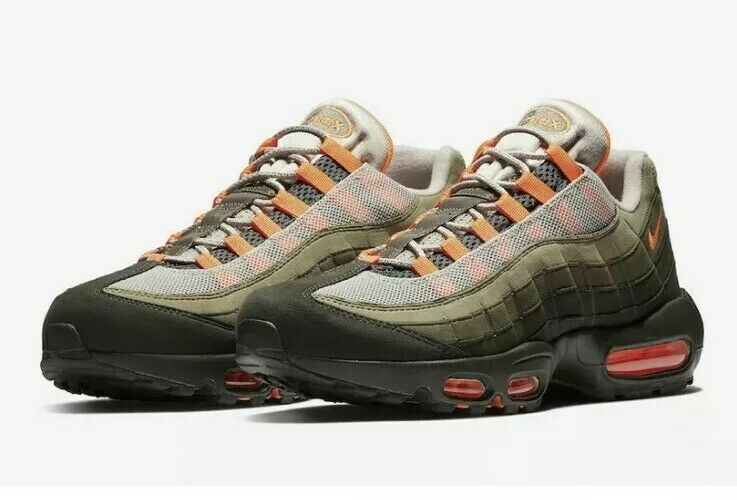 Nike Air Max 95 OG AT2865-200 String Total orange Mens 6 Womens 7.5 NEW