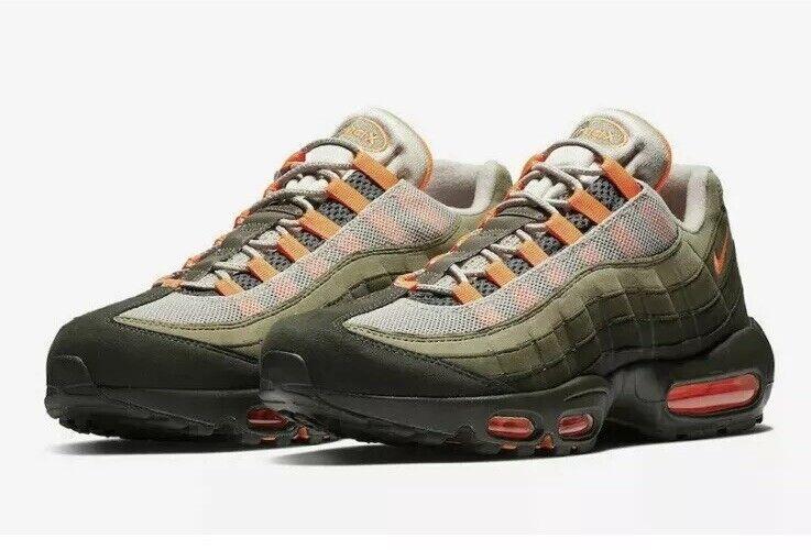 low priced cd7aa d80cb Nike Air Max 95 OG AT2865-200 String Total orange orange orange Mens 6  Womens