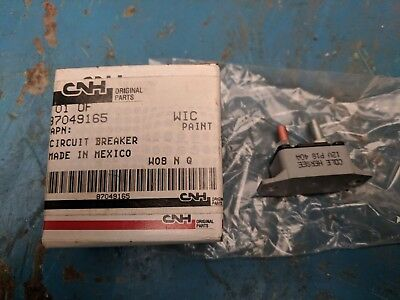 Case New Holland Circuit Breaker P/n 87049165 High Quality And Low Overhead Industrial Farming & Agriculture
