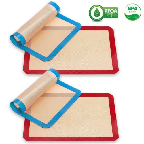 Non Stick Silicon Liner for Bake Heat Resistant and FDA Approved Baking Sheets