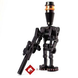 GENUINE UK LEGO STAR WARS BLACK ASSASSIN DROID MINIFIGURE FIGURE