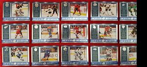 SALE-16-17-UD-Tim-Hortons-GAME-DAY-ACTION-Complete-Set-15-McDavid-Crosby