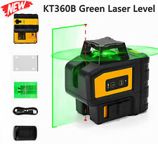 Self Leveling Green Laser Level 360 Degree Cross Line With 2 Plumb Spots