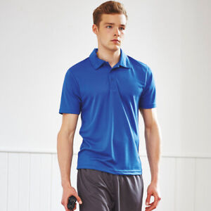 8c70487e AWDis JC040 Cool Mens Polo T-shirt Sports/ Casual Wear Polyester ...
