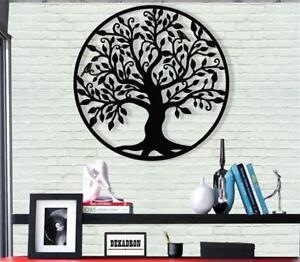 Metal-Family-Tree-Metal-Wall-Decor-Home-Living-Room-Decoration-Tree-of-Life-Art