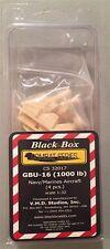 Black Box 1:32 GBU-16 (1000lb) Navy/Marines Aircraft (4 pcs.) CS32017