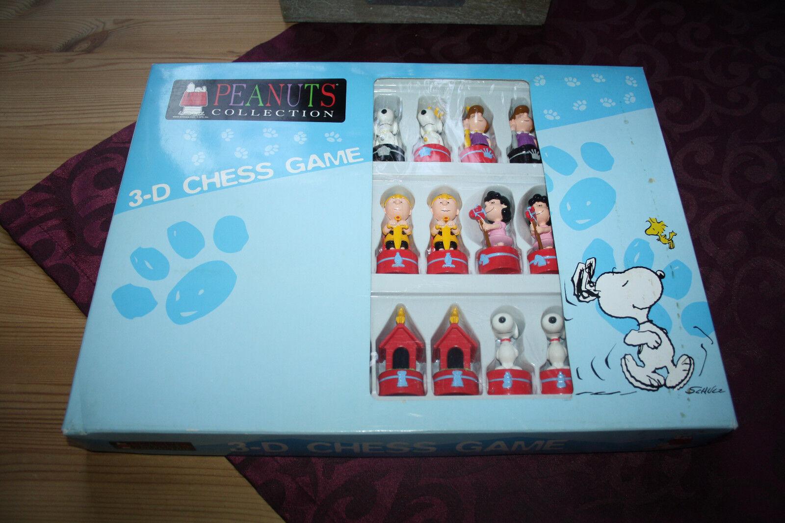 Peanuts Snoopy 3 D Schachspiel  Brettspiel
