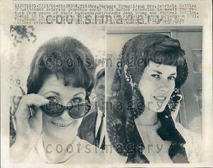 1966 Gemini 10 Astronaut Wives Barbara Young Patricia Collins  Press Photo