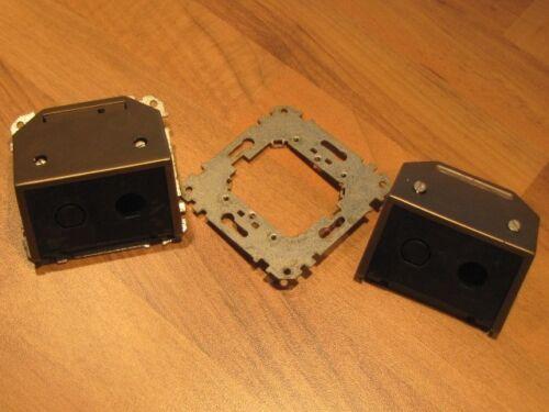 OctoColor Datenauslass mit Tragrahmen in bronze