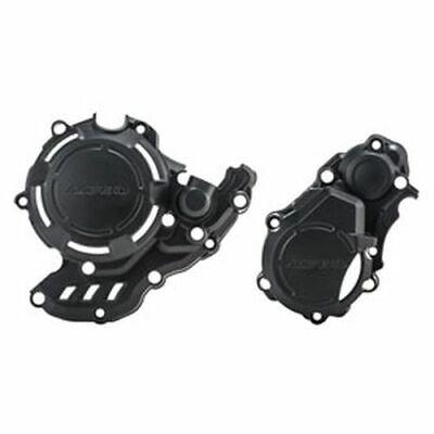 Polisport Ignition Cover Protector for 17-20 KTM 350EXCF Black