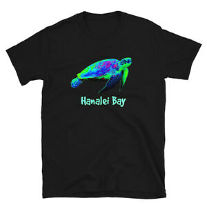 Hanalei-Bay-Save-Hawaii-Sea-Turtles-Hawaiian-Islands-Ocean-Tee-Unisex-T-Shirt