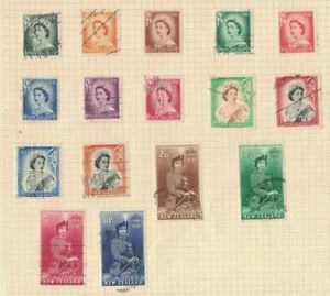 NZ117-New-Zealand-1953-QE-II-Definitives-USED