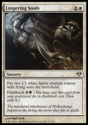 U NM - Dark Ascension Lingering Souls Magic MTG