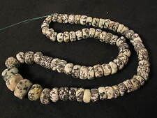 Strang alte Steinperlen Granit Gneiss Dogon Old Big African Stone beads Afrozip