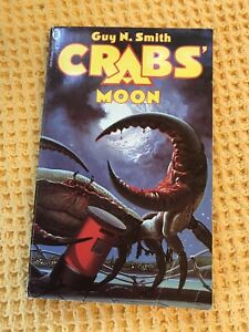 Guy-N-Smith-Crabs-Moon-NEL-First-Edition-1984-Vintage-Horror