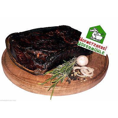 (16,90 €/kg)300g schwarzgeräucherter Bauernschinken  geschnitten
