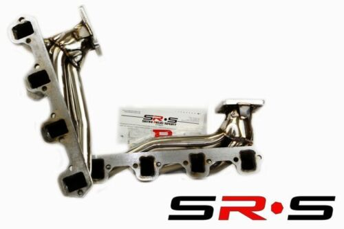 Ford Mustang 5.0L V8 T3  T4 Twin Turbo Stainless Steel Turbo Manifold SR*S TUNIN