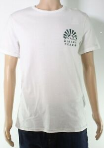 Jack & Jones Mens T-Shirt Classic Bright White Size 2XL Graphic Tee $20- 150