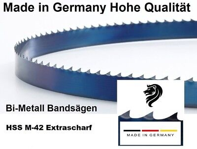 Optimum 1x Bimetall M42 Sägeband 1638 x 13 x 0,65 mm 8//12 ZpZ Bandsägeblatt z.B