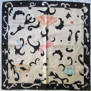 Superbe Foulard BULGARI 100% soie TBEG vintage scarf 87 x 87 cm   eBay d160f0d9565