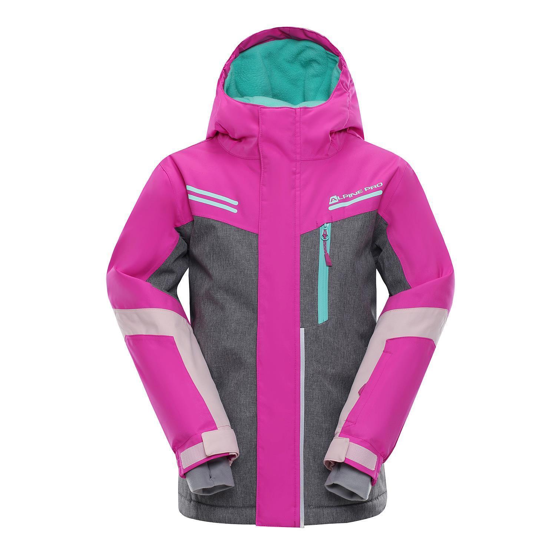 Alpine Pro Sardaro Kinder Skijacke Ski Winter Jacke Snowboardjacke Schneejacke