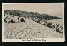 Wales Glamorgan Glam BARRY Beach Cold Knap 1928 RP PPC