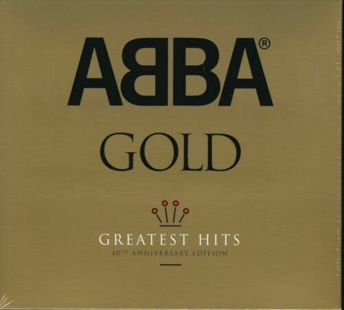 ABBA Gold Greatest Hits 40th Anniversary Edition 3CD BRAND NEW Digipak