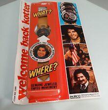 "WELCOME BACK KOTTER""1976"" John Travolta-MINT IN ORG PAC,VERY RARE ITEM,SWEATHOG"