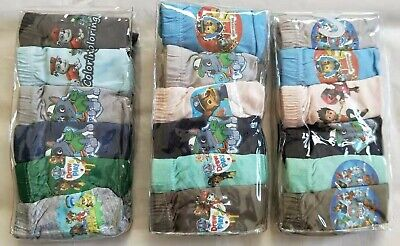 3 PAW PATROL Boy licensed 2pc rash rashie trunks swim set sizes 2