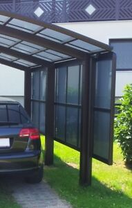 Favorit Ximax Carport Seitenwand für Portoforte u. Linea Edelstahl-Look L KT68