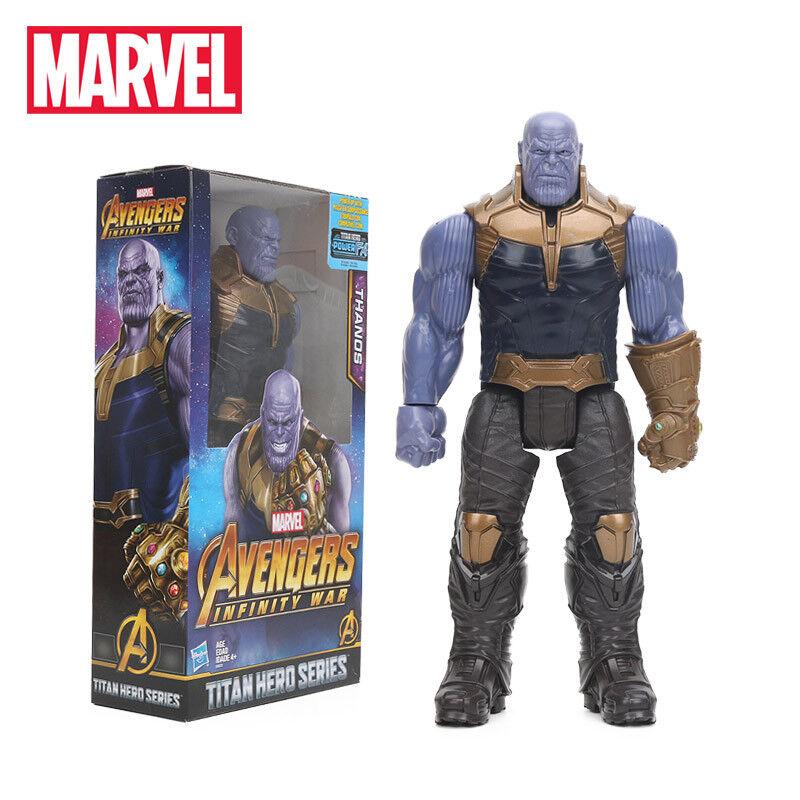 Avengers unendlichkeit krieg thanos titan held serie pvc - actionfigur modell.