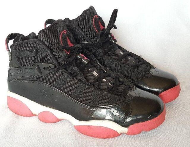 Air Jordan Kids Girls 6 Rings GS Black   Spark-White Size 6.5 Sport Tennis f032a6b39c