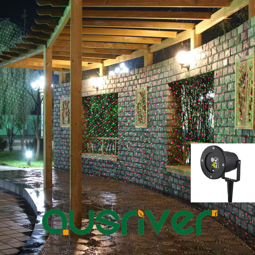 SUNY Outdoor Waterproof Laser Projector Garden Lawn Party Xmas Decorative Light