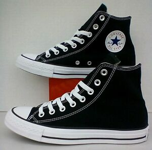 3b818660097b74 Converse All Star Chuck Taylor Hi Top Canvas Black   White M9160 All ...