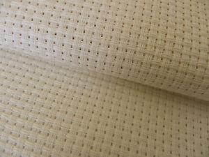 AgréAble 4 Pièces Ivoire/crème 6 Count Binca Tissu Aida 15 X 20 Cm Zweigart-afficher Le Titre D'origine Attrayant Et Durable