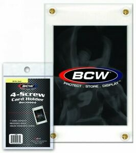 BCW-20pt-4-Screw-Recessed-Trading-Card-Holder-Qty-1