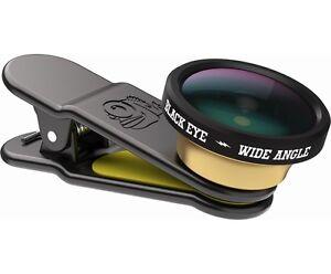 Black Eye WA002 Wide Angle Clip con lente Grandangolare 160° per Smartphone
