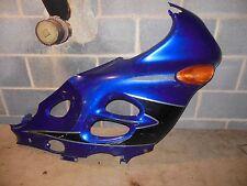 03 Suzuki GSX F Katana 600 Right side plastic cowling fairing cover + signal