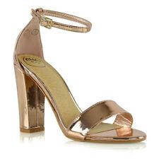 9c6d8e7adb467f item 3 Womens Ankle Strap Sandals Block High Heel Ladies Peeptoe Bridal  Party Prom Shoe -Womens Ankle Strap Sandals Block High Heel Ladies Peeptoe  Bridal ...