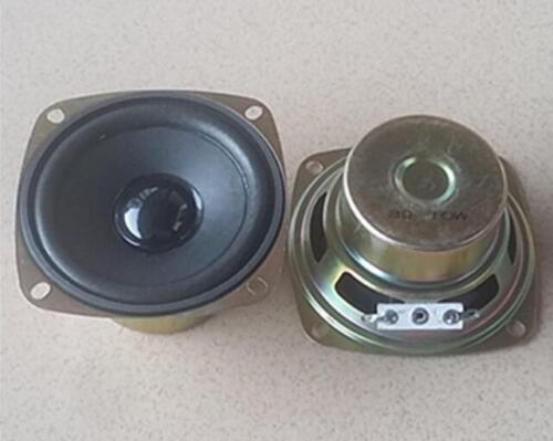"2ps 3/""inch 8ohm 10W 78mmm square Full-range woofer speaker Loudspeaker foam edge"