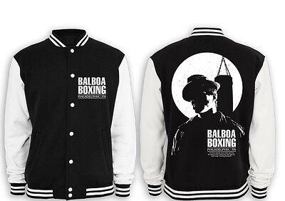 """Balboa Boxing Club M2 College Giacca Stallone, Rocky, Rambo, Culto, Movie, Fight-,rambo,kult,movie,fight"""" Data-mtsrclang=""""it-it Mostra Il Titolo Originale"""