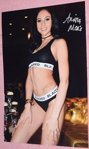 Image Is Loading Ariana Marie Signed 8x12 034 Original Photo 9