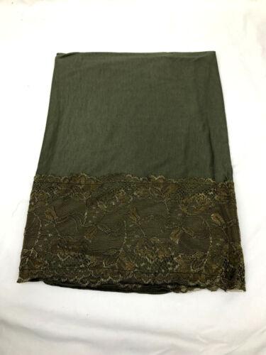 Jersey Lace Hijab Flower Design Maxi Scarf Plain Shawl Abaya High Quality Jersey