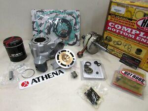 Complete full engine rebuild kit piston crankshaft gaskets 02-16 YAMAHA YZ85